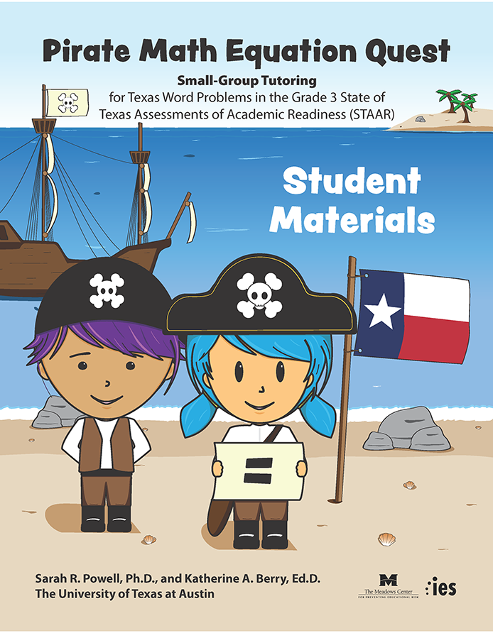 screenshot of a PDF showing young children dressed up as pirates